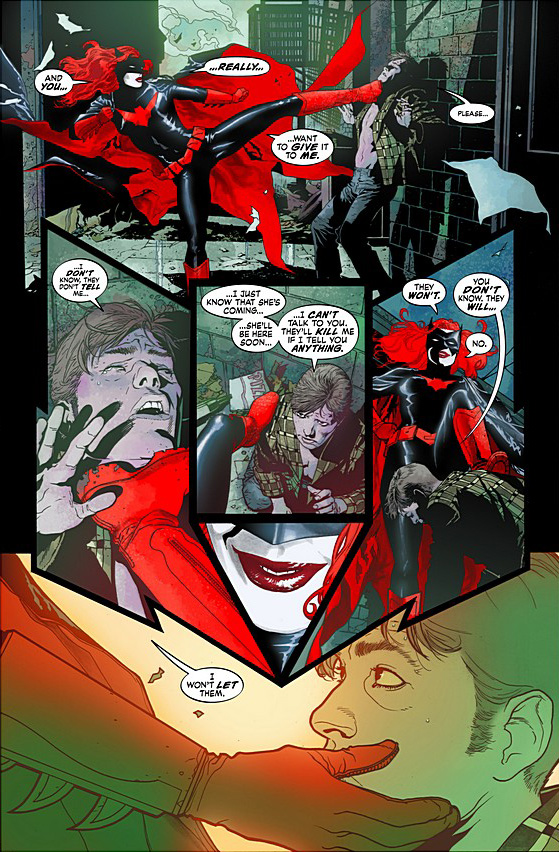 batwoman action page