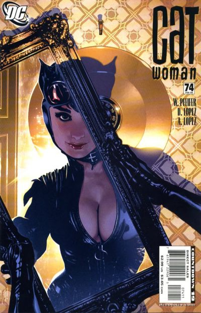 Catwoman 74 published