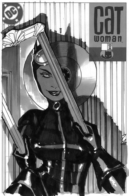 Catwoman 74 Unpublished