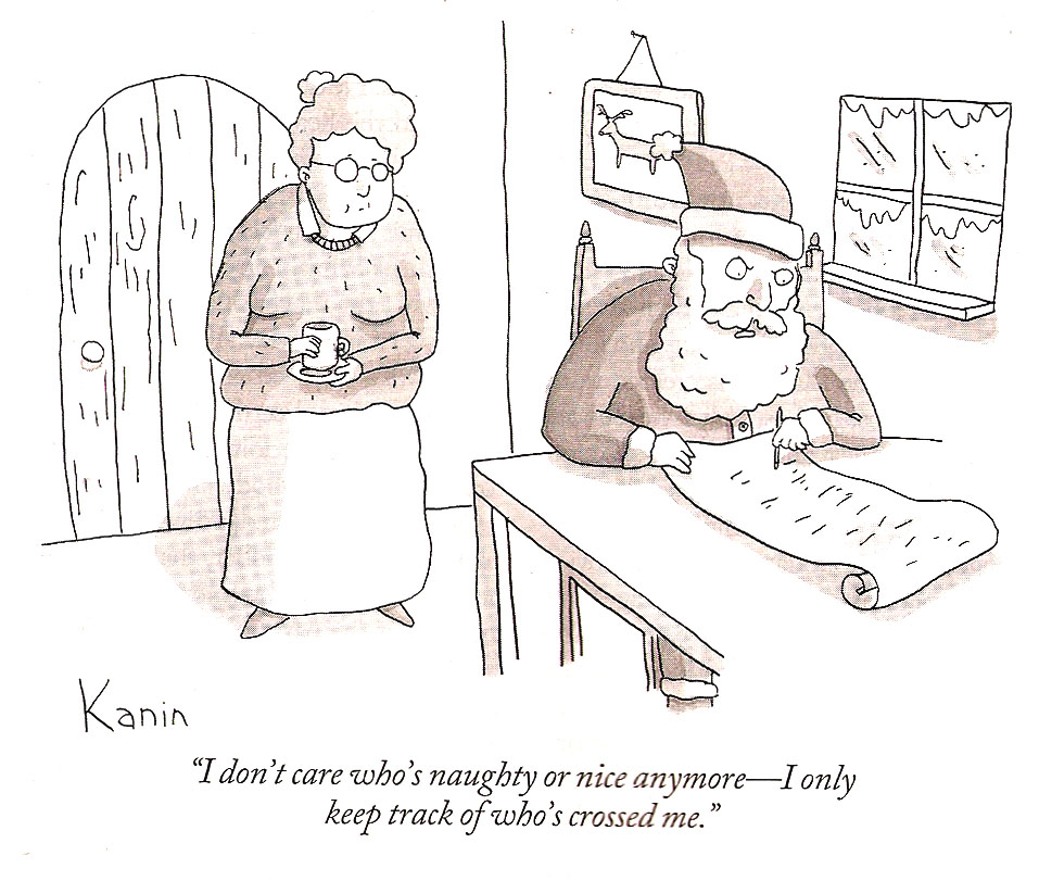 From the latest issue of The New Yorker…I totally feel like that ...