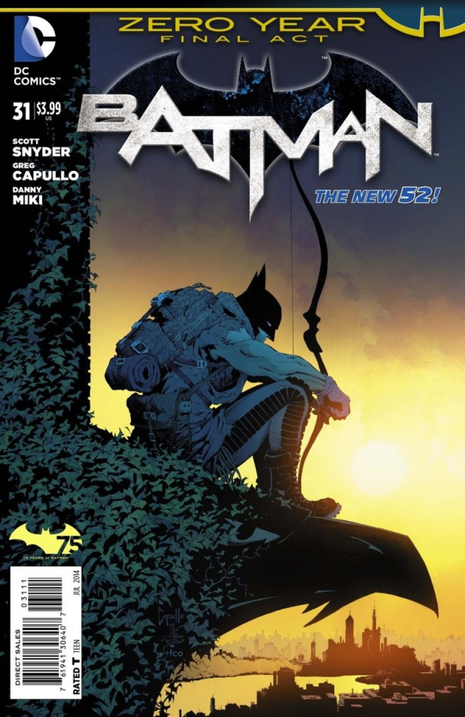 024 Batman Zero Year Cover