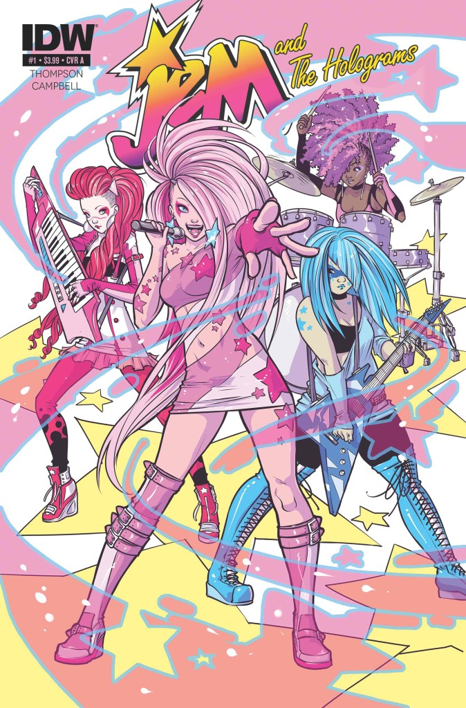 Jem Issue 1 Cover w Logos- IDW